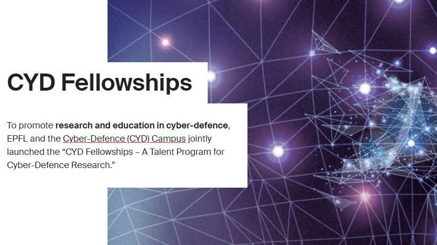 EPFL: CYD fellowships