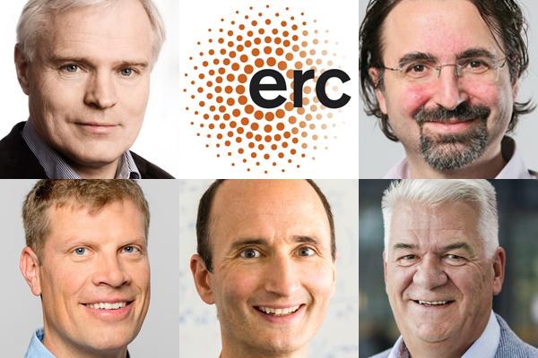ERC Grantees from EuroTech Universities