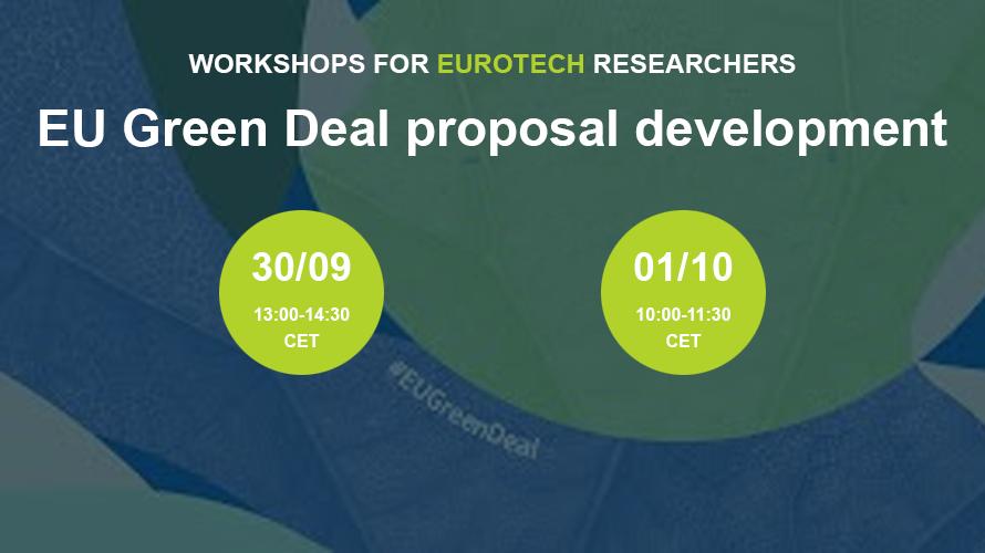 EuroTech EU Green Deal workshops