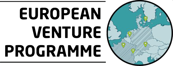 The logo of the European Venture Programme