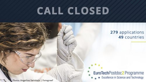 EuroTechPostdoc2 programme - call closed